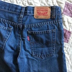 Boys 505 Levis- Size 7 Regular- Hardly Worn